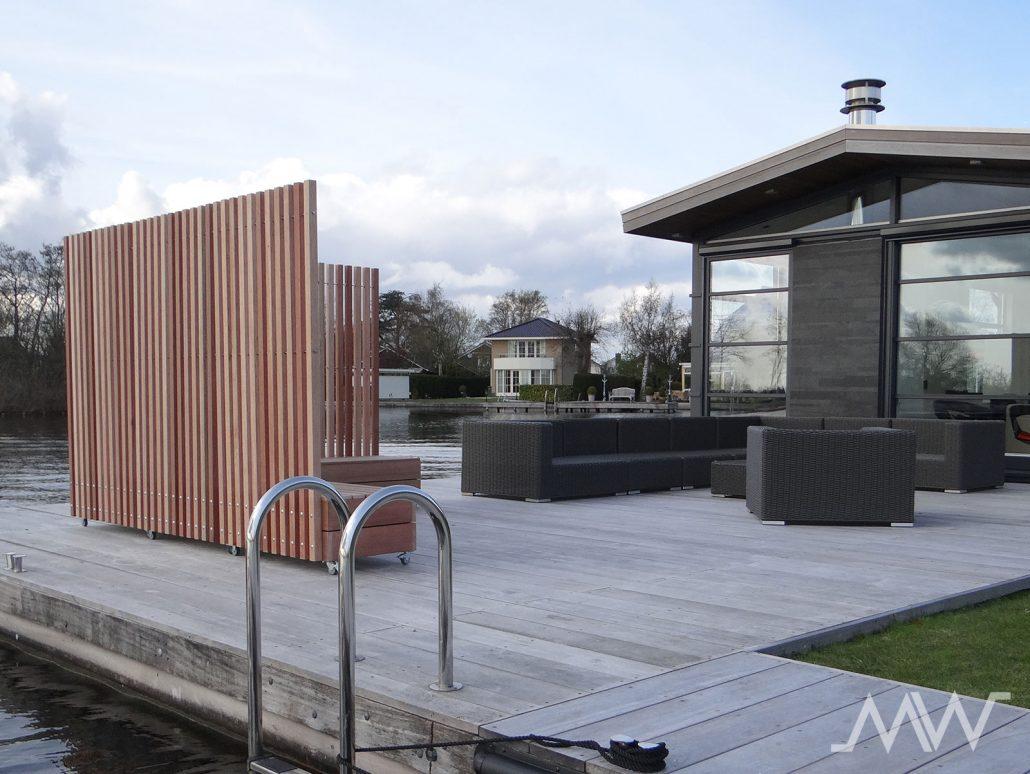 Plexiglas Windscherm Tuin : Mobielwindscherm
