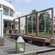 mobiel windscherm villa